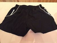 """Black shorts with white stripe """"GameGear"""""""