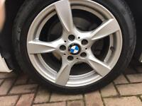 """17"""" BMW Alloys & run-flat tyres"""