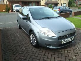 2007 Fiat Grande Punto 1.2l , 3 Drs, MOT till Feb 2019 with No Advisories, Full Service History