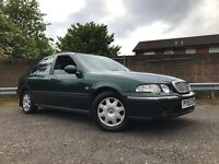 Rover 45 Impression Years Mot With No Advisorys Low Mileage Drives Great Cheap Car !!!