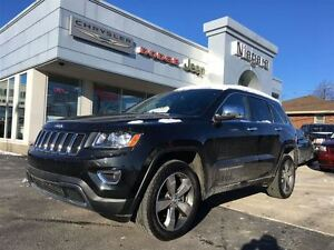 2015 Jeep Grand Cherokee LIMITED,LEATHER,HTD SEATS,BLUETOOTH,NAV
