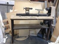 Homemade work bench worker working bench with its Woodworker