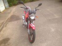 Yamaha YBR 125cc 2011 (£1000 ONO)