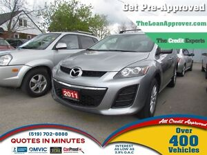 2011 Mazda CX-7 GX * CAR LOANS FOR ALL CREDIT