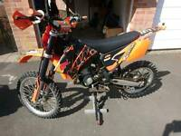 2009 KTM SX 85 BIG WHEEL LOTS OF TRICK PARTS AND NEW PARTS