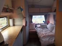 Vintage , renovated 4 berth Caravan , dry , bunk beds , and double bed