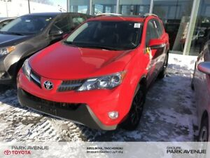 2015 Toyota RAV4 XLE 50TH ANNIVERSAIRE+AWD+COUTURE ROUGE