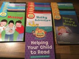 Biff, Chip and Kipper books level 4-6 Oxford reading tree
