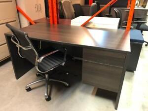 """30"""" x 60"""" Single Pedestal Desk - $249"""