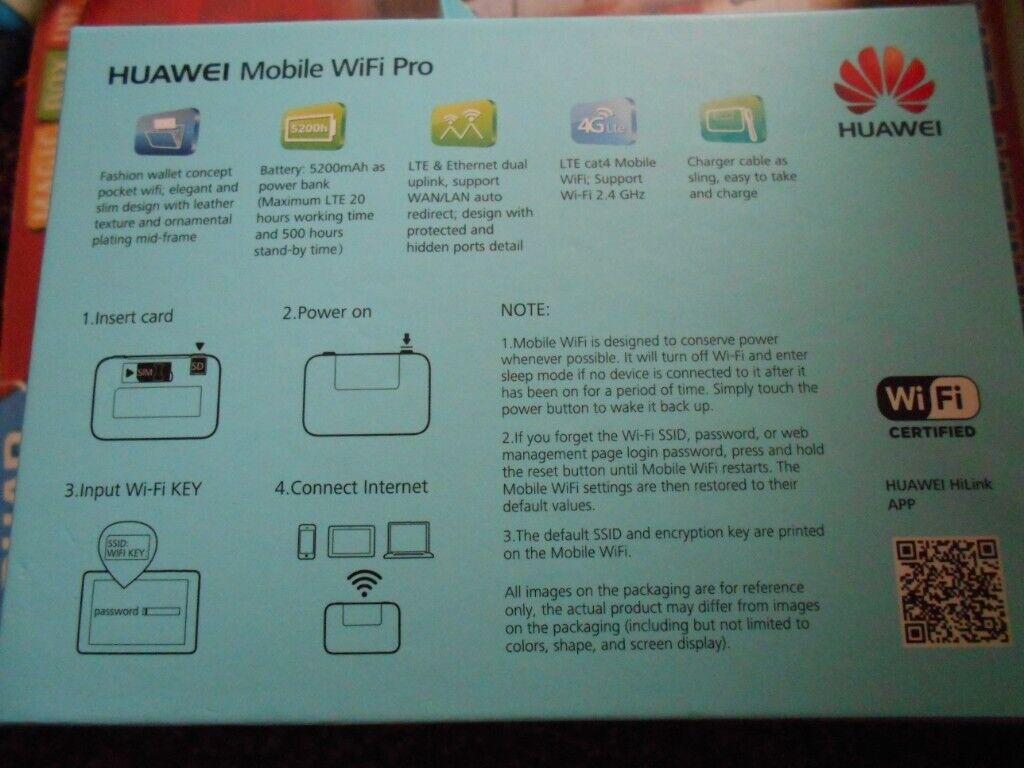 Huawei mobile wifi pro | in Hedge End, Hampshire | Gumtree