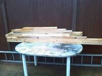 Different bits of wood