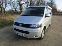VW T5 Campervan Highline Spec, CamperKing Conversion, 15,300 miles, Immaculate Throughout