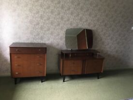 Chest of Drawers & Dressing Table VINTAGE
