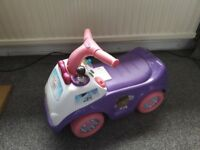 Doc Mcstuffins musical ride on