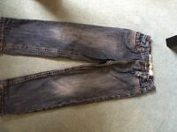 Boys jeans immaculate condition age 4 - 5