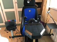 Saitek Full Flight Sim Controls, Play Seat & Sub Woofer