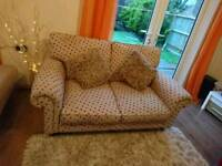 Laura Ashley 2 Seater in Polka Dot, Delivery Available