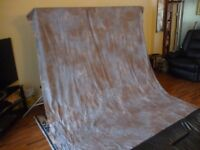 two large photo shoot back drop(340 cms by 210 cms each drop) professional drops for photo shoots...