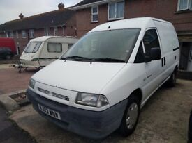 Citroen dispatch 1.9 for spares or repairs