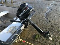 Outboard Engine Mercury 4hp.2 Stroke Long Shaft