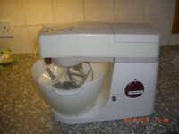 kenwood chef mixer and high speed shredder