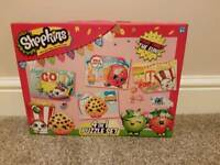 NEW 4 in 1 shopkins puzzle