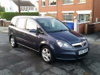 2007 VAUXHALL ZAFIRA CDTI, FULL MOT, 6 SPEED, DELIVERY AVAILABLE - P/X, TRADE INS, SWAPS WELCOME