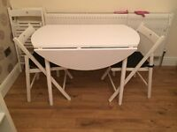 Lovely folding table and chairs