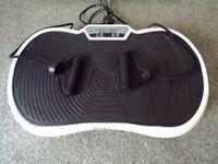 BodyFit Vibration Plate - White - Very Little Use.