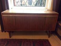 Alba Radiogram Mid Century, fully working