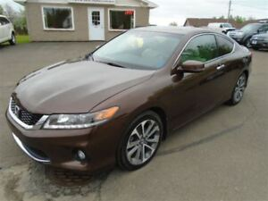 2013 Honda Accord EX-L V6 6-Speed Manual Nav Leather Sunroof
