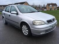 2001 Vauxhall Astra 1.4 CREDIT & DEBIT CARDS ACCEPTED