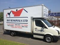 £60 RSF REMOVALS fully insured 100% feedback
