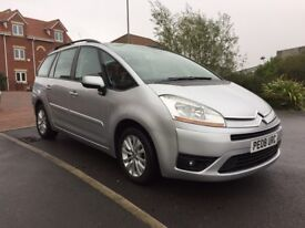 2008 Citroen C4 Grand Picasso 1.6hdi semi auto Long MOT!