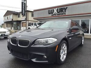 2013 BMW 5 Series 528I XDRIVE M SPORT PKG ACCIDENT FREE!!!