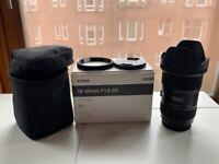 Sigma 18-35mm f/1.8 Canon EF Mount