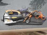 Evolution Power Jigsaw and black and decker power drill with tool bag