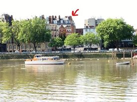 Stunning River Views, by Putney Embankment - 3 double bed Flat - Reduced to let immediatly