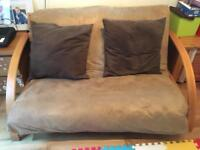 Suede Futon from the Futon Company