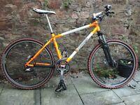 26inch wheel Orange Clockwork Mountain Bike (Limited Edition)