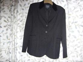 "Black show jacket size 40"" V.G.C. by Dublin"