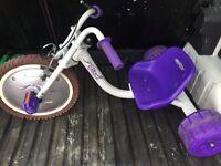 Kids three wheeler bike