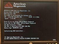 Gateway R380 F1 Server, 2.67GHz Xeon E5520, 8-port SAS Flex I/O card