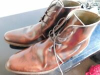 Three Pairs of Good Quality Men's Shoes / Boots