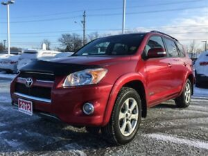 2012 Toyota RAV4 LIMITED-LEATHER+NAVIGATION!