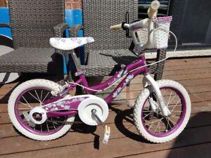 Vélo kamasura pour filles 16 pouces (petites roues)