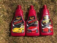 Meguiars 3 step car cleaning kit