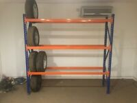 NEW EXCEL CAR TYRE STORAGE RACKING (Brentwood Branch)