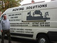 Man and large van for hire . professional and reliable service