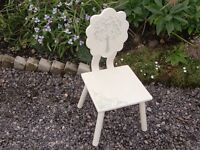 shabby chic child's chair shabby chic childs chair collection only postcode LE4 1BJ